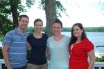 Dan, Ann Taylor, Becca and Kristen