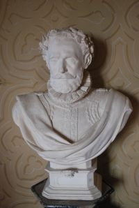 Statue in the castle