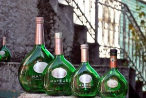 Mateus Wine Bottles