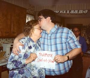 Skip and my mom