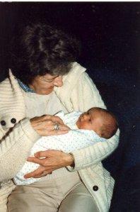 Maryrose Shaw with her grandbaby