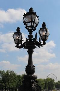 Streetlights on the Pont Alexandre III