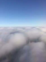 View of Scotland from the sky